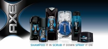 The AXE Body Spray Line