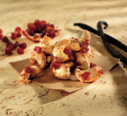 Cashews with Pomegranate + Vanilla