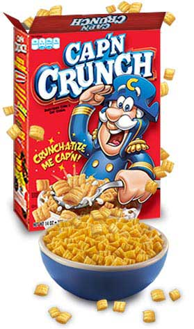 Amazon.com: Cap'N Crunch, Red Box, 20-Ounce (Pack of 5): Breakfast ...