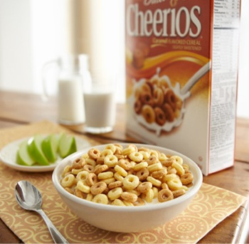 Get off on the right foot with Dulce de Leche Cheerios®: