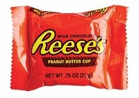 Reeses Peanut Butter Cups.