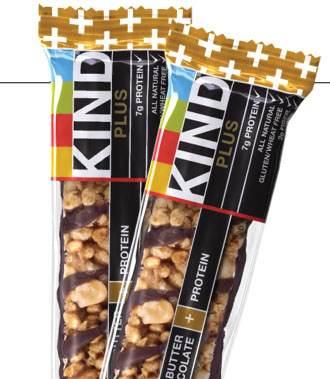 KIND PLUS, Peanut Butter Dark Chocolate + Protein, Gluten Free ...