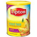 Lipton Sweetened Iced Tea, Mango