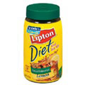 Lipton Diet Iced Tea Mix, Decaffeinated Lemon