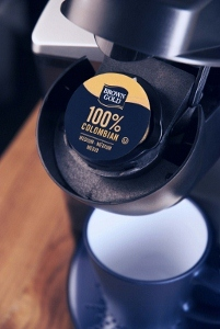 Real cup delivers perfect taste in every cup.