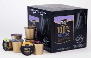 Brown Gold Variety Pack Coffee Capsules
