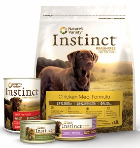 Amazoncom Instinct Original Grain Free Chicken Meal Formula