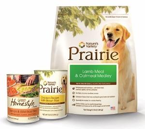 Instinct pet food products.