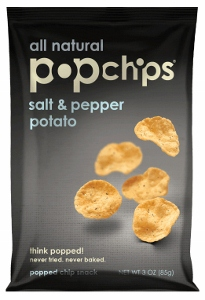 Bag of Salt and Pepper Popchips
