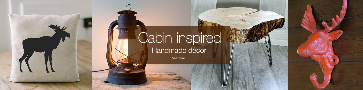 cabin inspired home decor - Candles Home Decor