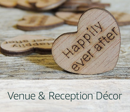 Handmade Venue & Reception Decor