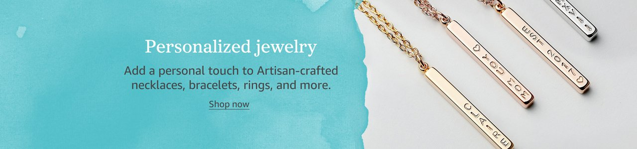 Handcrafted, Personalized Jewelry