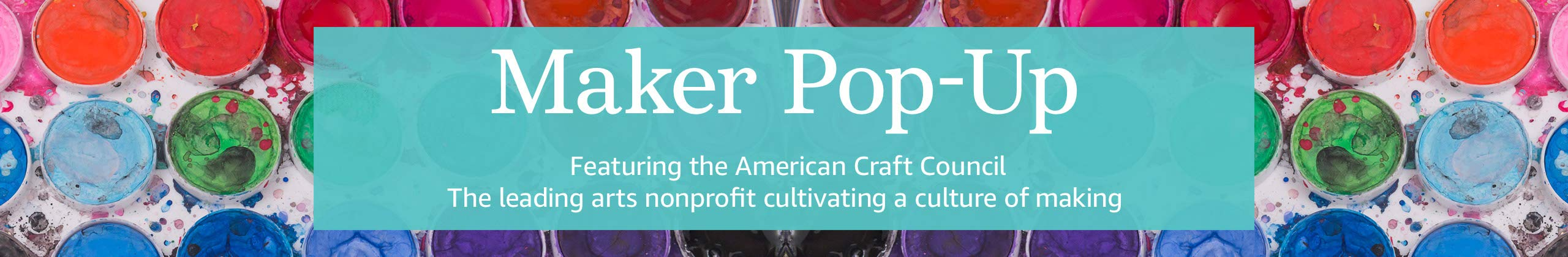 Maker Pop-Up Featuring American Craft Council