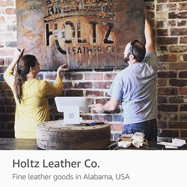 Featured Artisan: Holtz Leather Co