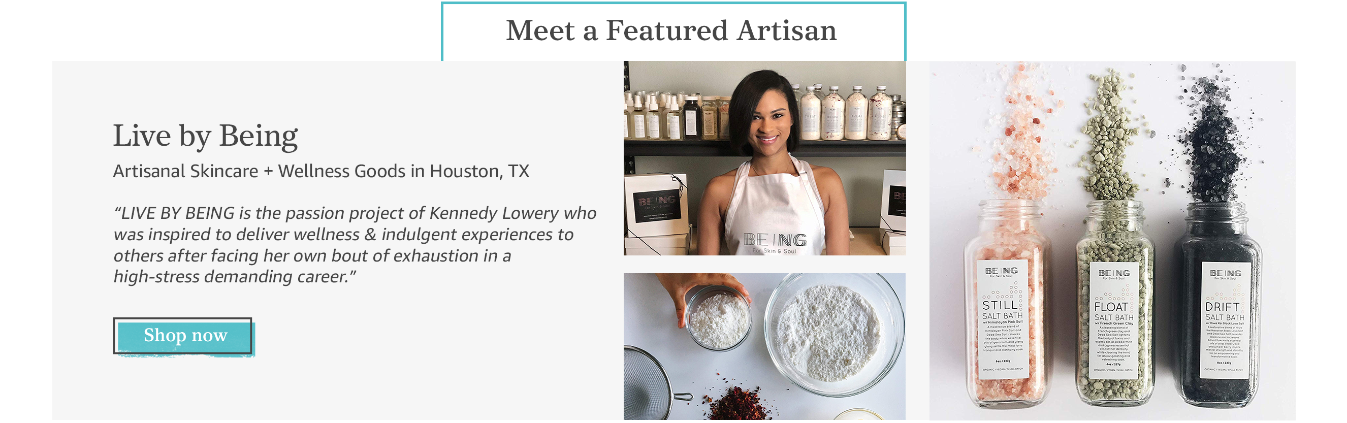 Featured Artisan: Live by Being