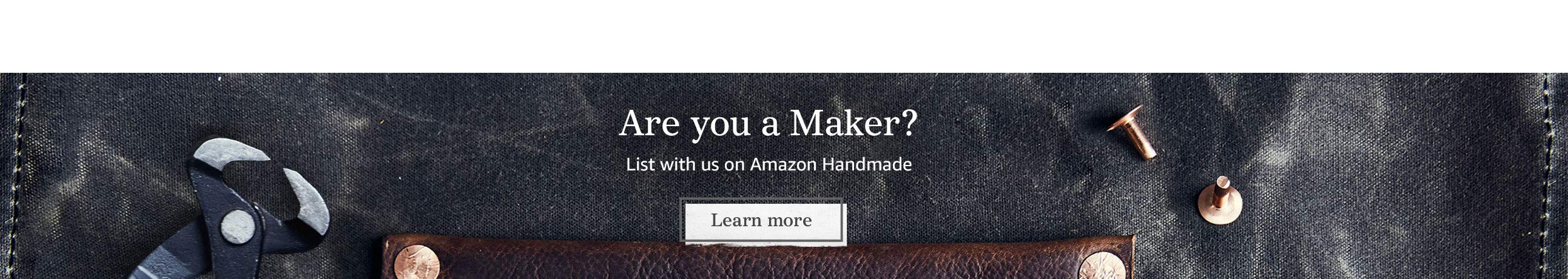 Apply to sell on Handmade