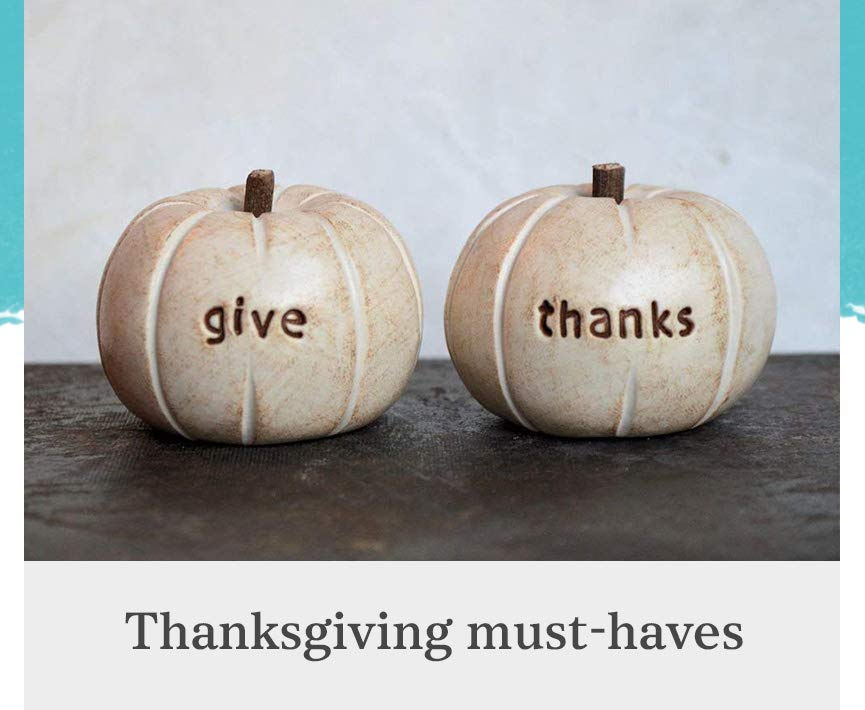 Thanksgiving Decor and accessoires