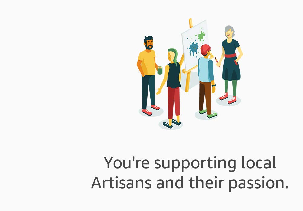 You're supporting local Artisans and their passion