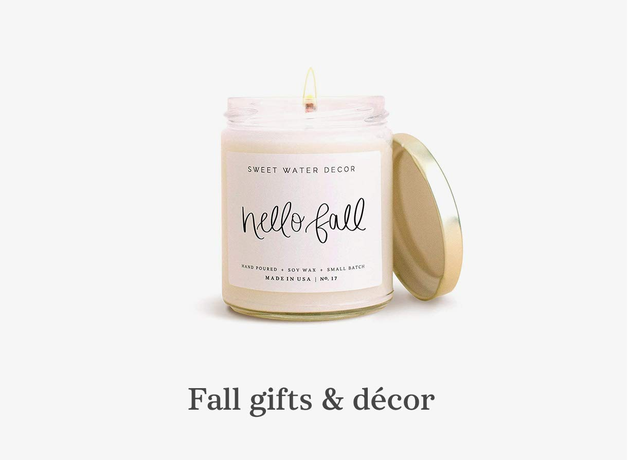 Fall gifts & decor
