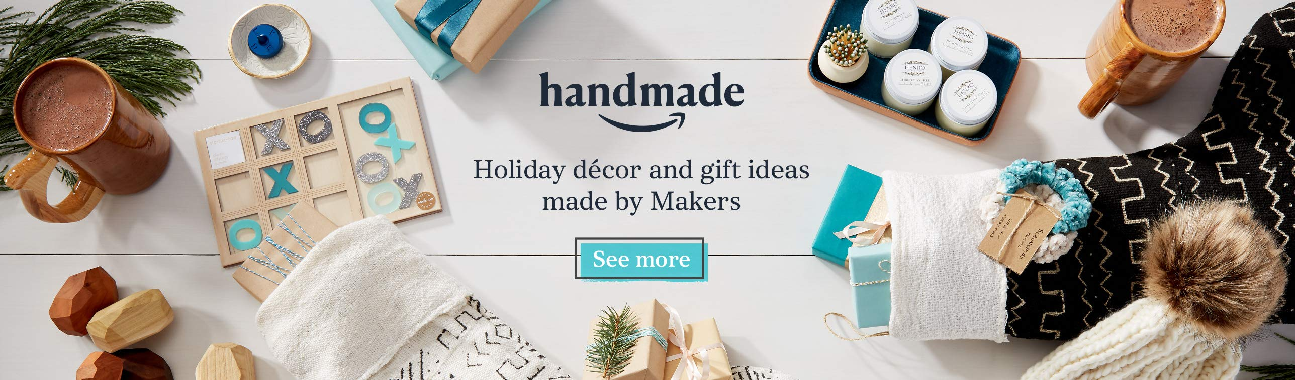 Holiday décor and gift idea made by Makers