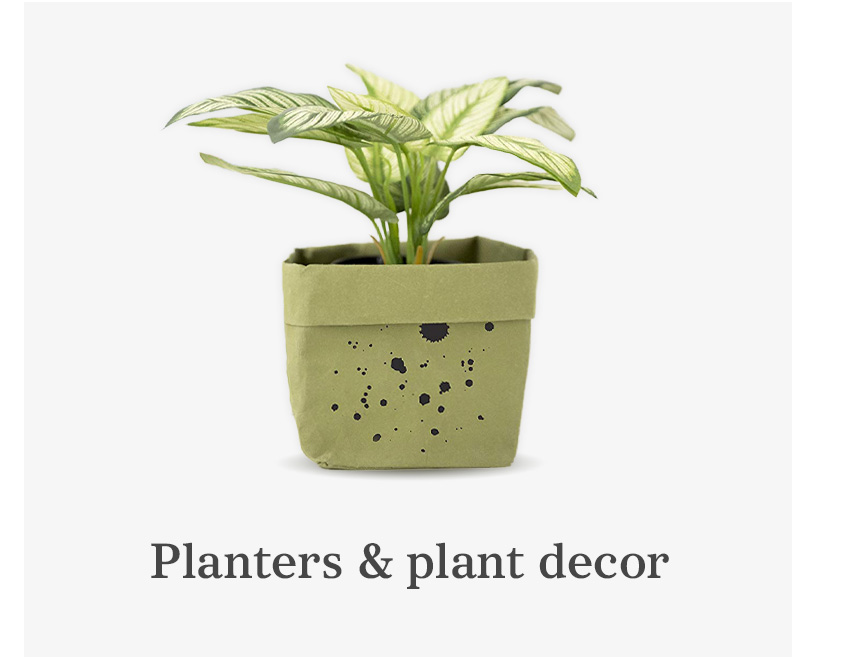 Planters & Plant Decor