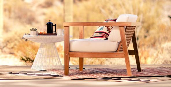 Desert modern style