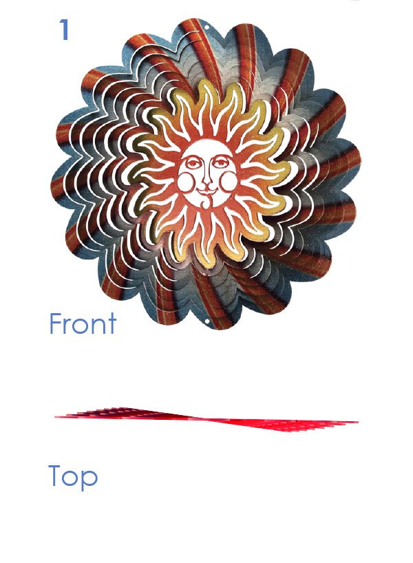 Amazon.com: Iron Stop D370-10 Texas Flag Wind Spinner: Patio, Lawn
