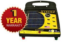 Amazon Com Zareba Esp10m Z 10 Mile Solar Low Impedance