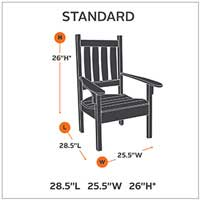 Amazon Com Classic Accessories Hickory Patio Lounge