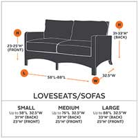 Super Classic Accessories Hickory Patio Sofa Loveseat Cover Medium Ocoug Best Dining Table And Chair Ideas Images Ocougorg