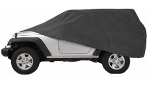 Overdrive Polypro  Charcoal Full Size Sedan Car Cover