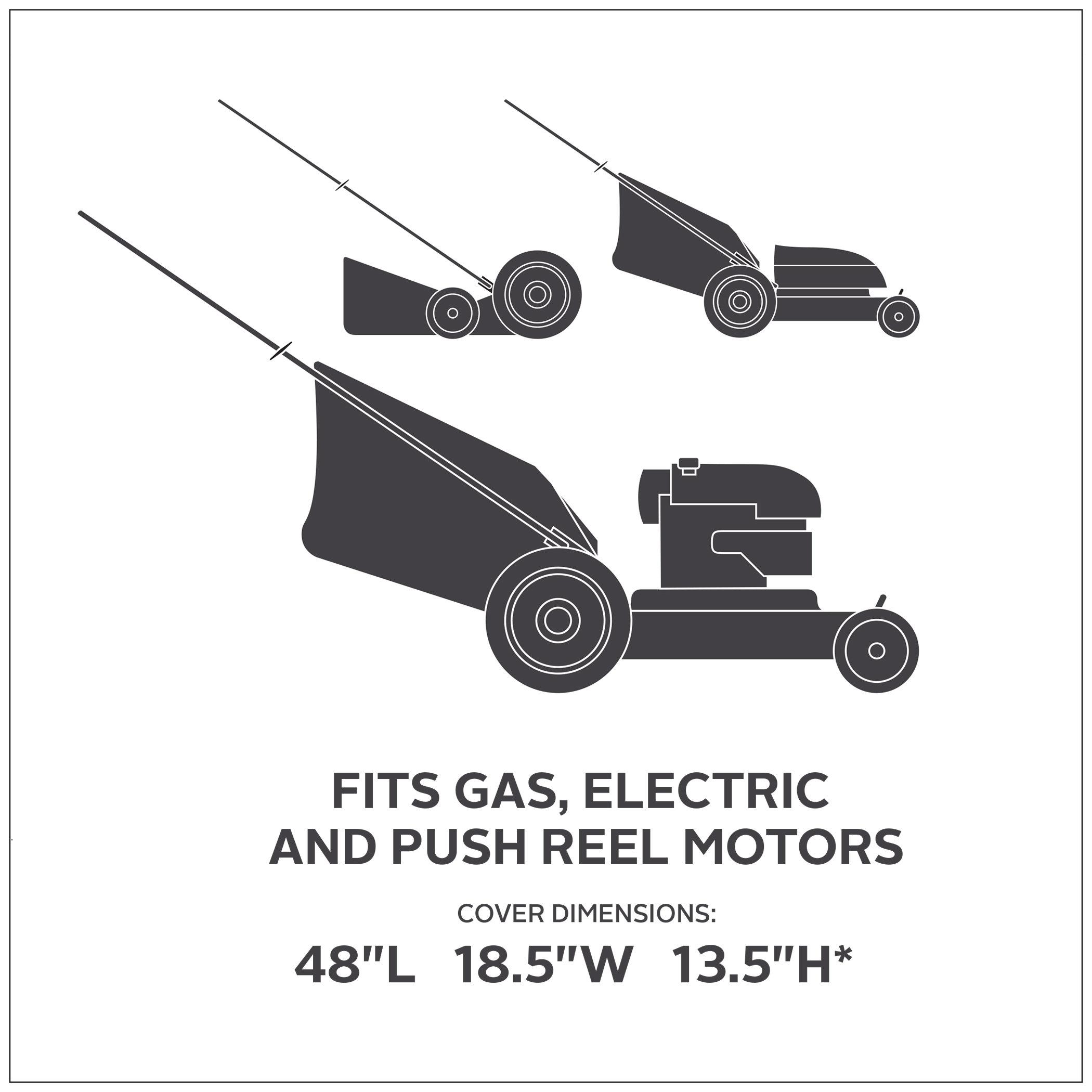 Amazon Com Classic Accessories 73117 Black Lawn Mower