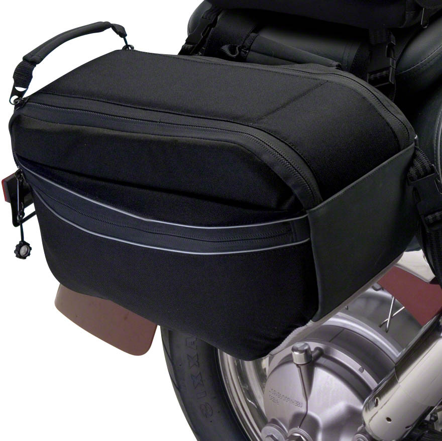 accessories classic amazon motorcycle saddle side motogear zippered pockets bags moto exterior