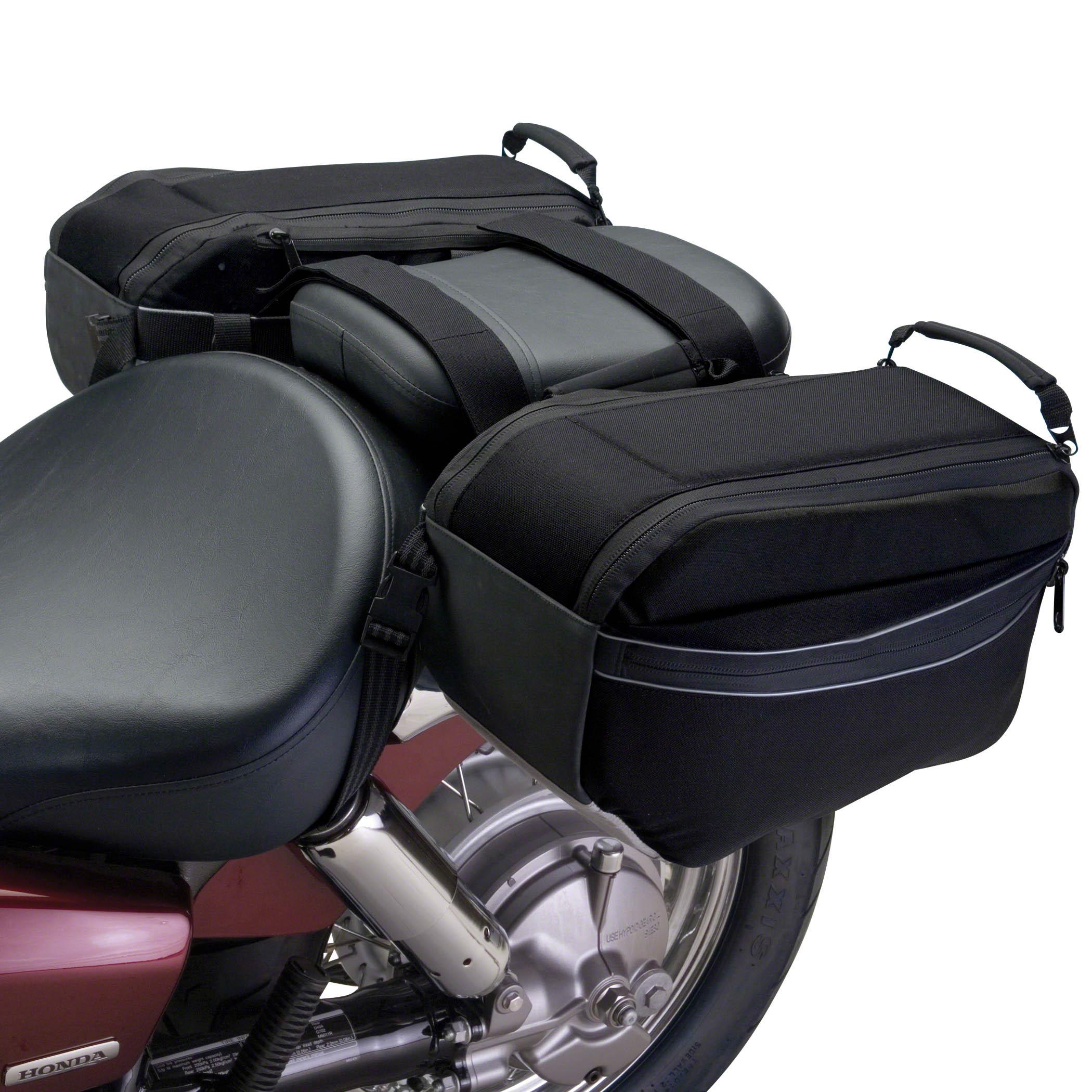 Motorbike saddle bags