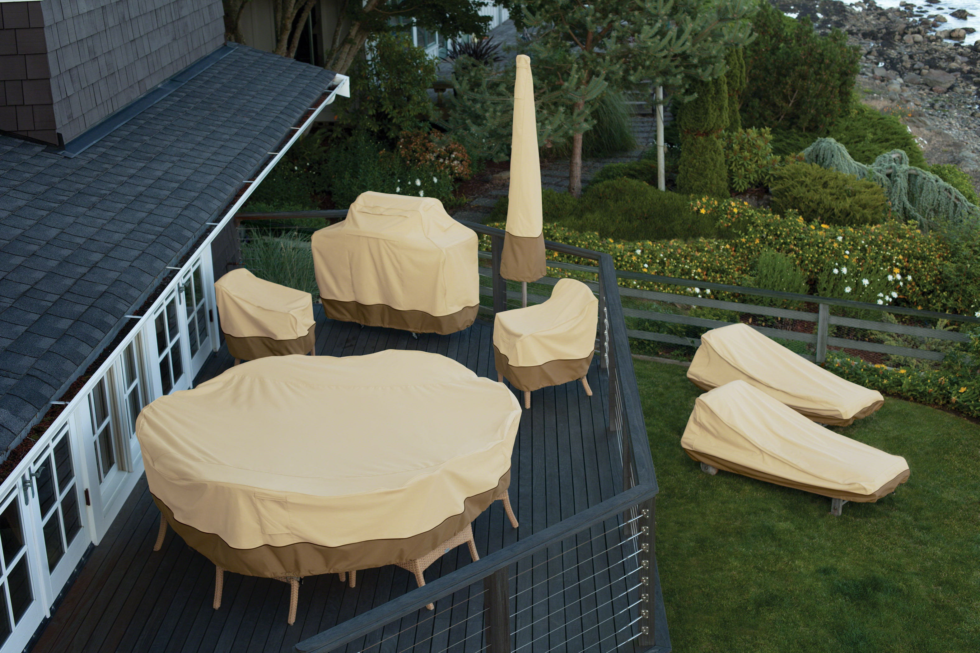 how to choose right place for offset patio umbrella