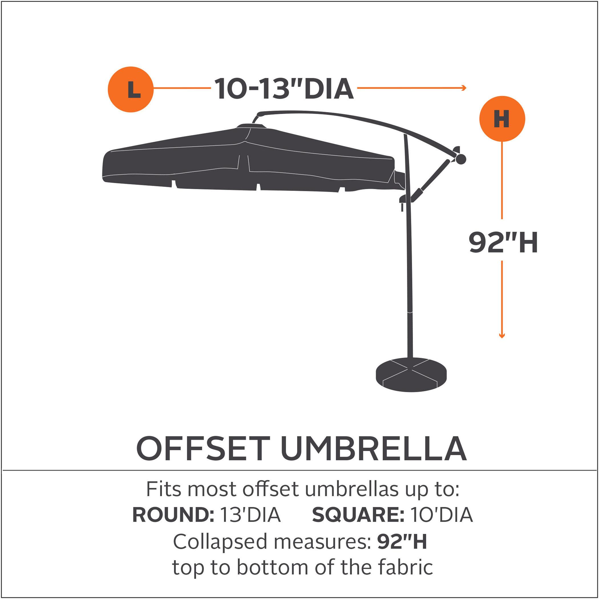 Patio Umbrella Replacement Parts: Amazon.com : Classic Accessories Veranda Patio Offset
