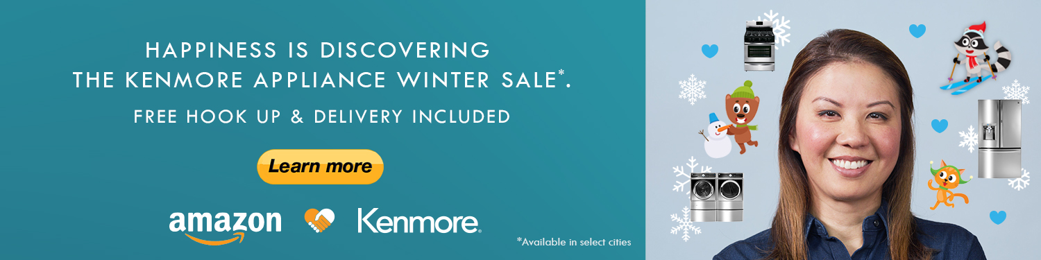 Up to 25% off for Kenmore Martin Luther King Day Sales