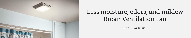 Broan ventilation fan