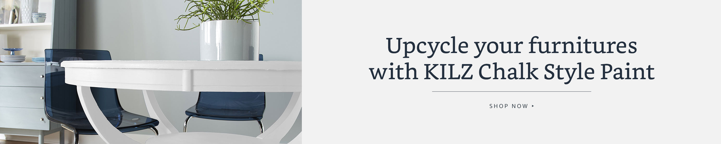 Upcycle your furniture with KILZ