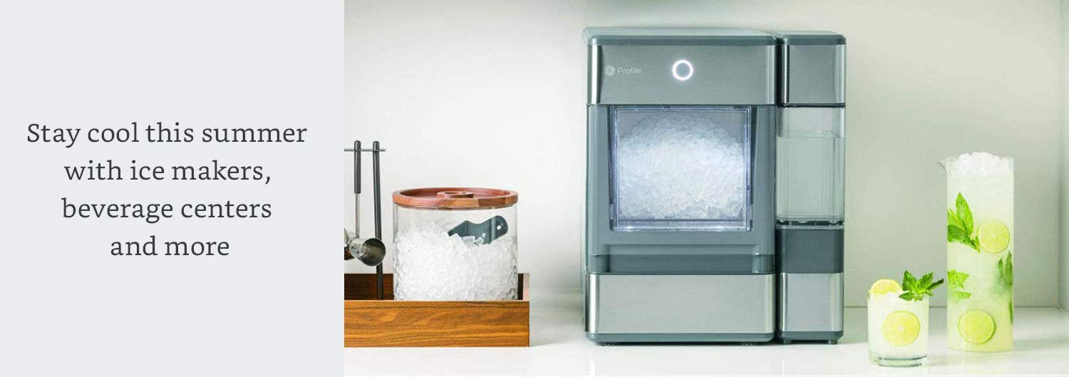 Stay cool this summer with ice makers, beverage centers and more