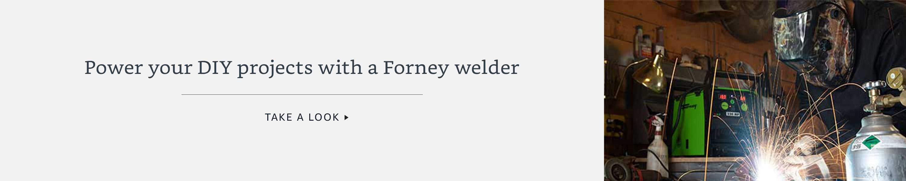 Power your DIY projects with a Forney welder