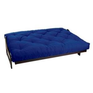 Mozaic Full Size 8-Inch Futon Mattress, Blue