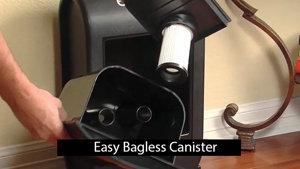 BaglessCanister - Eye Vac Pro