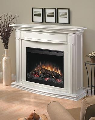 Amazon.com: Dimplex Addison DFP69139W Electric Fireplace Mantle ...