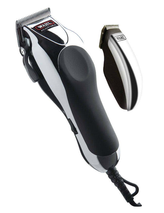 Amazon Com Wahl 79524 1001 Deluxe Chrome Pro With Multi Cut Clipper