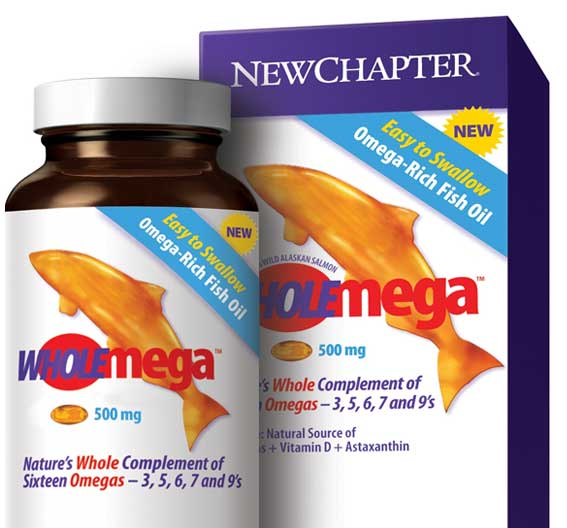New chapter fish oil supplement wholemega for New chapter fish oil