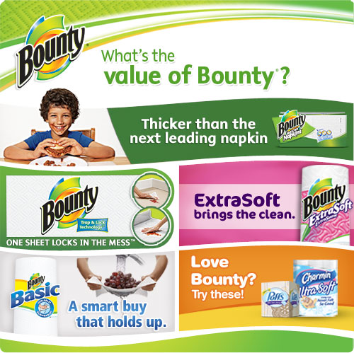 Bounty Paper Towels Fall Prints: Amazon.com: Bounty Paper Napkins, White, 200 Count (Pack