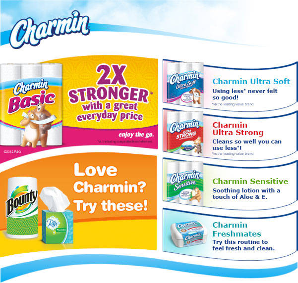 Charmin Sensitive Toilet Paper