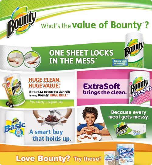Amazon.com: Bounty Paper Towels 3 Big Rolls (Pack of 8): Health ...