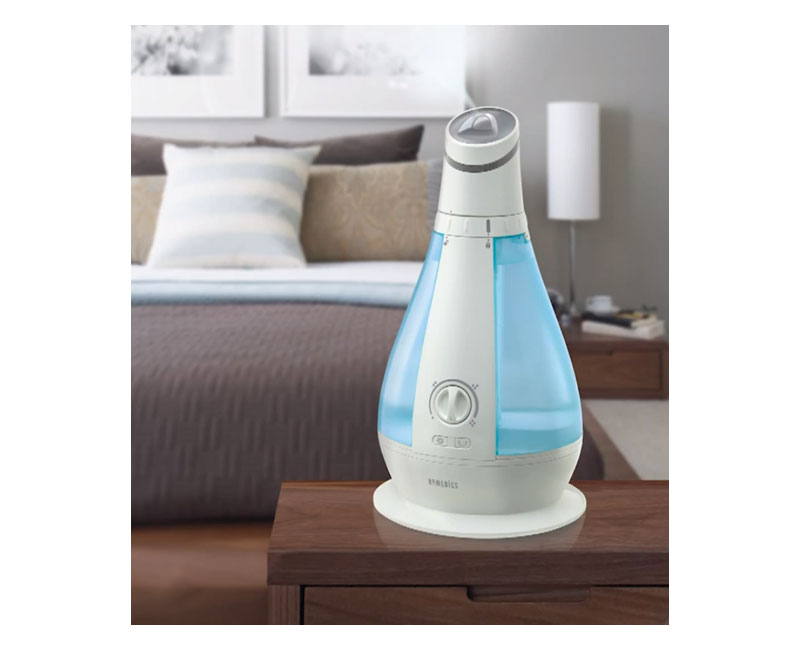 Homedics oscillating cool mist ultrasonic for Small room vaporizer